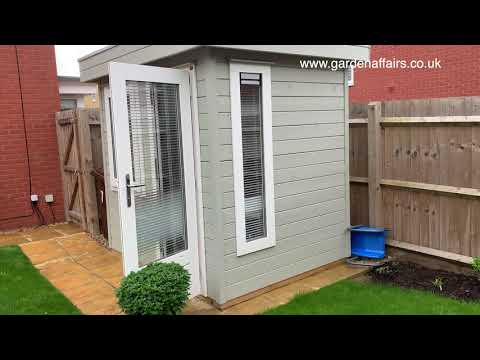How hard is it to self-assemble a garden office?