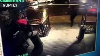 Istanbul nightclub gunman shooting at people caught on CCTV (GRAPHIC)