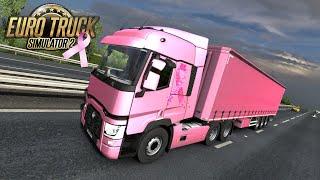 Gambar cover Euro Truck Simulator 2 going pink