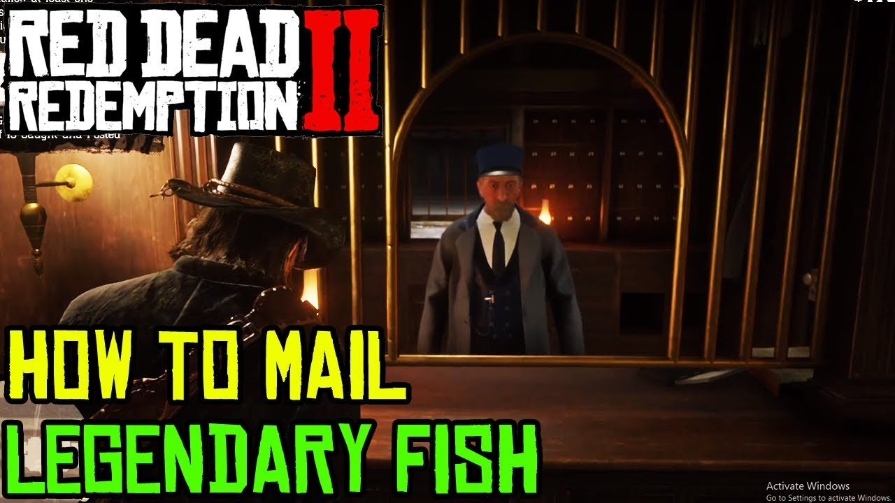3414b4afd8dd0 Red Dead Redemption 2 - WHAT TO DO WITH LEGENDARY FISH - YouTube