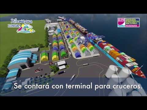 Nicaragua moderniza Puerto Corinto