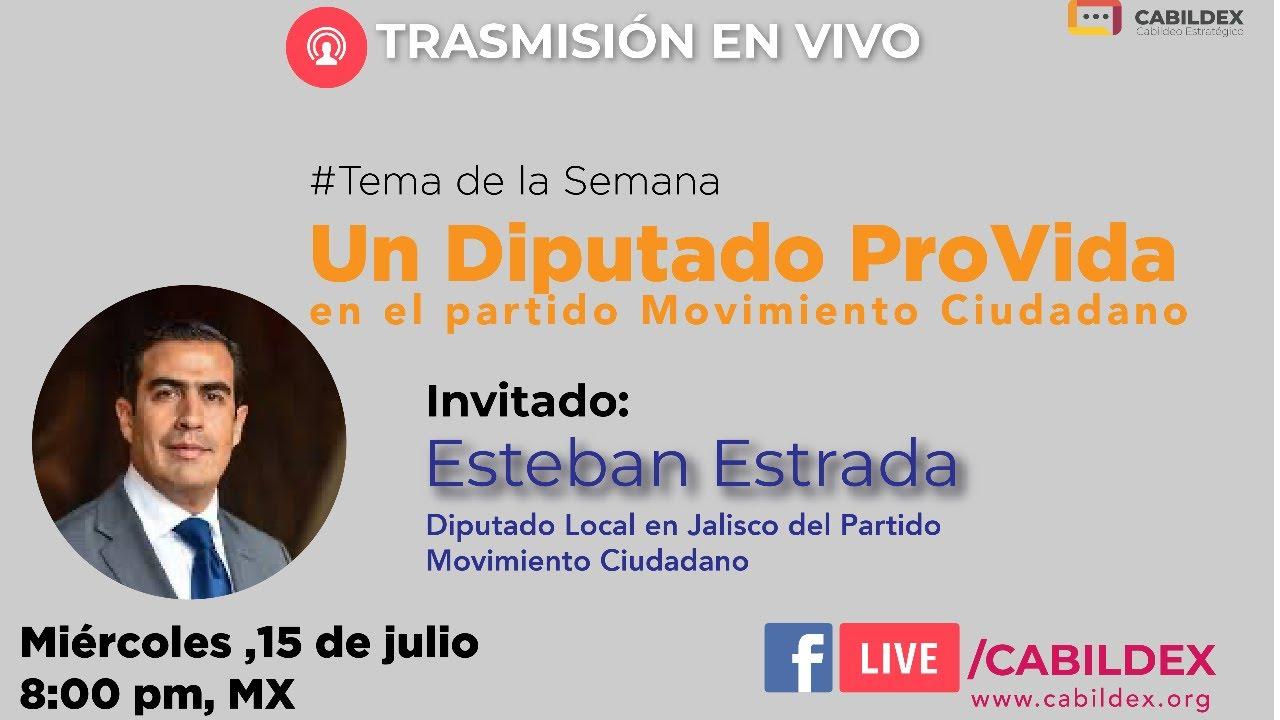 Cabildex Live | Un diputado provida en Movimiento Ciudadano