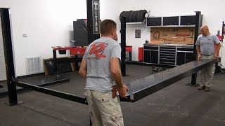 How To - Assembling & Installing a Titan 7K Four Post Parking Lift