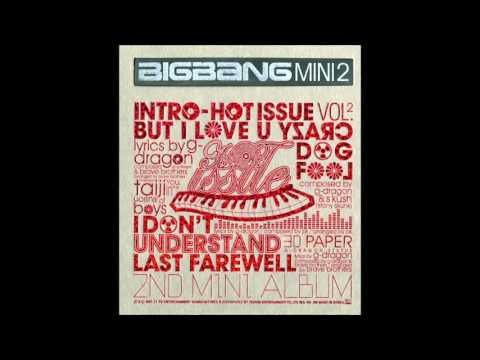 (AUDIO) (MP3) Last Farewall (마지막인사)  BIGBANG