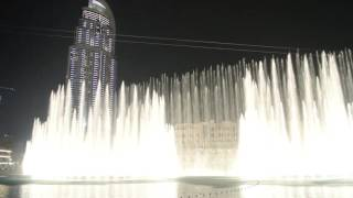 Fountain Dancing Dubai - The Prayer - Andrea Bocelli e Celine Dion HD