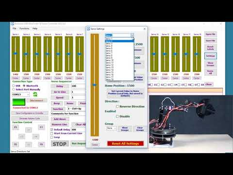 17DOF Humanoid Robot DIY Kit with 18 Servo Controller