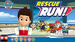Paw Patrol Rescue Run - How to Get All Badges in Every Location - iOS Gameplay