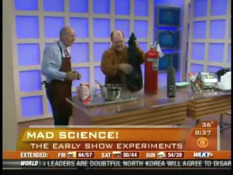 Mad Science on the CBS Early Show