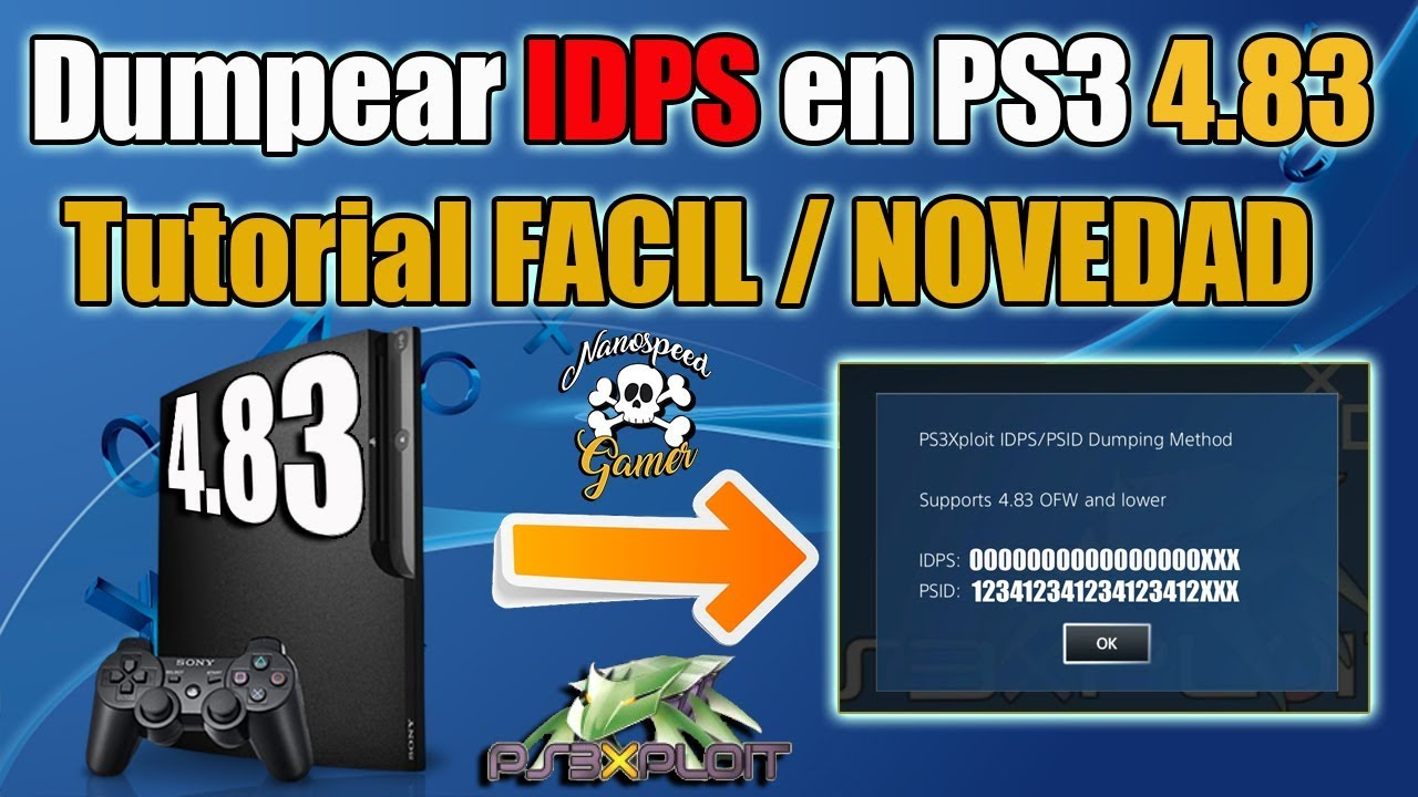 PS3 StoreHaxx 4 83 IDPS / PSID Dumping Method by Esc0rtd3w