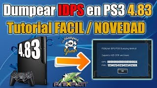 Dumpear IDPS/PSID en PS3 4.83   NOVEDAD - FACIL - PS3XPLOIT TEAM