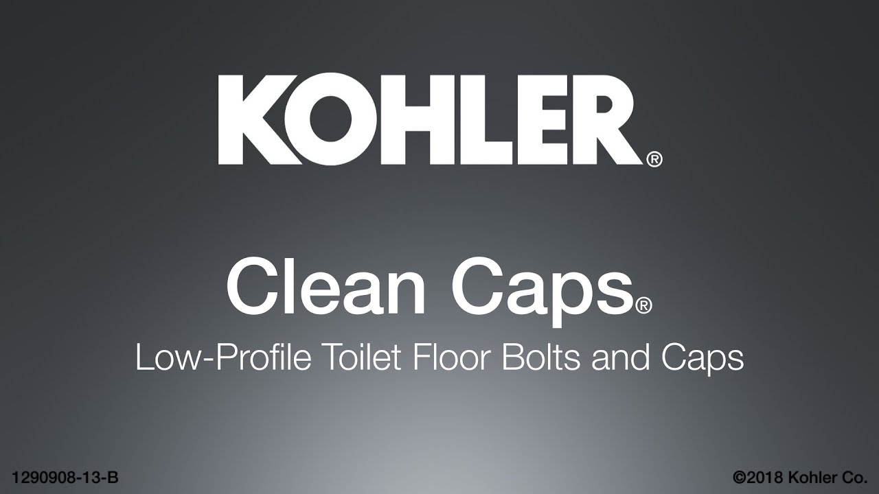 Quick Install – Clean Caps Low-Profile Toilet Floor Bolts and Caps