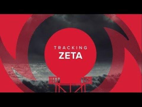 Live: Latest paths, tracks and models for Hurricane Zeta