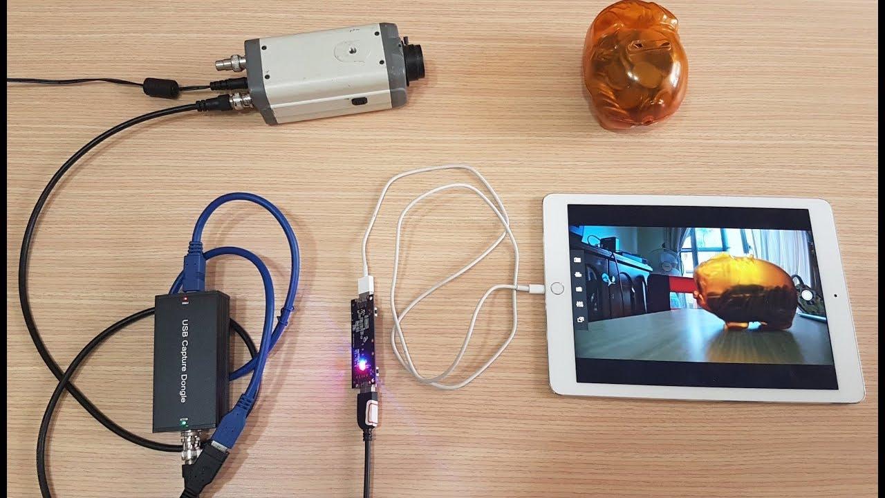 SDI camera dispay on iOS (iPad iPhone) as monitor by wire lightning