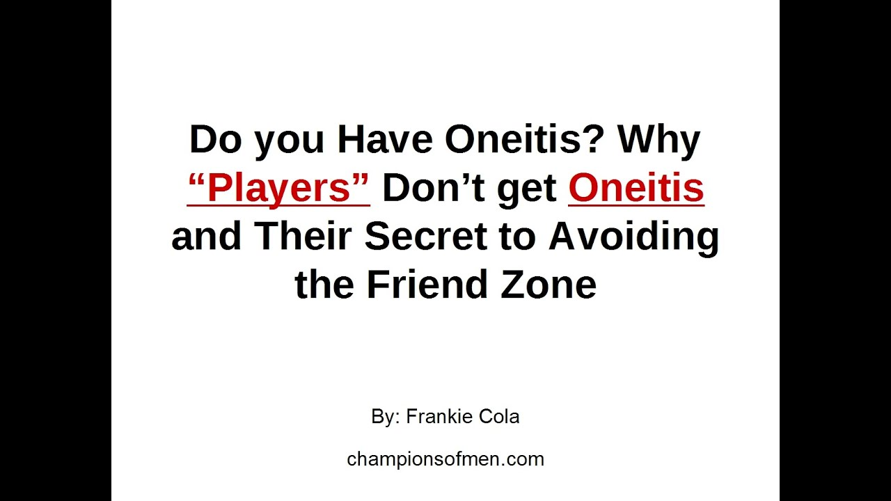 How to Cure Oneitis: What To Do When You Have a Crush On A