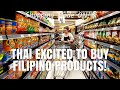 THAI Shopping FILIPINO Products (PHILIPPINES) | PASALUBONG VLOG!