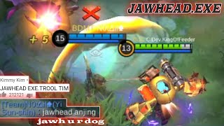 JAWHEAD.EXE  | Mobile Legends Funny Gameplay