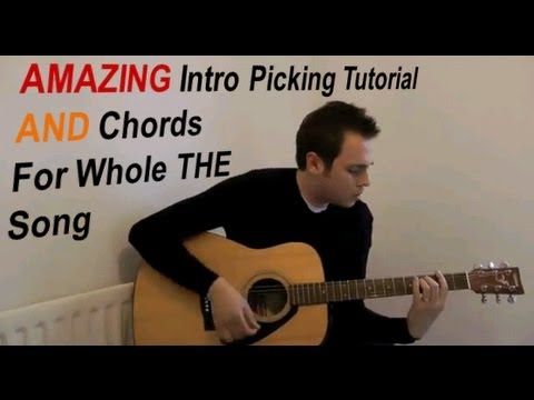 Someone Like You - Adele - Easy Guitar Tutorial (No Capo) - With Chords