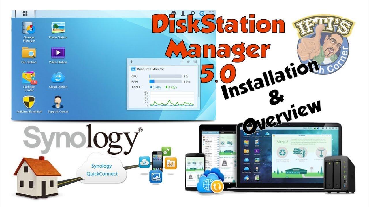 Synology DiskStation Manager 5 0 (DSM5) - Setup and Review!!