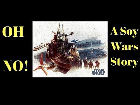 SOLO Star Wars Enfys Nest Clip review   Video #6 Black Angus Reviews