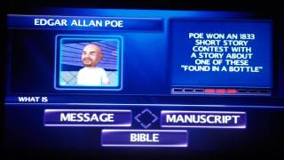 Jeopardy for the PS3 Game 1 Part 1