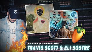 How to make VINTAGE, BOUNCY Samples for artists like Travis Scott and Eli Sostre | FL Studio 20