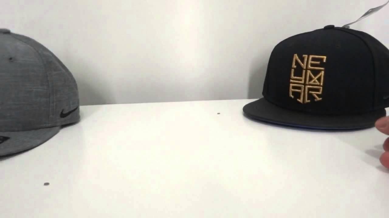 af9354a172c Neymar Nike Cap Snapback- Boné de Neymar Nike Review - YouTube