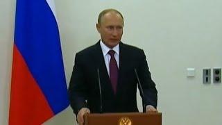 Vladimir Putin Reacts to Donald Trump Victory