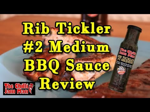 The Chilli Jam Man Rib Tickler Sticky BBQ Sauce Review