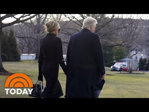 Trump Leaves White House 'Much As He Came In,' Peter Alexander Says | TODAY
