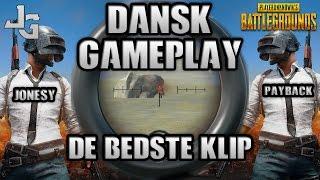 PUBG Dansk/Danish Gameplay - De Bedste Klip - Playerunknowns Battleground