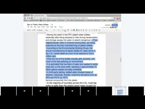 Reading/Speaking: Environmental Issues