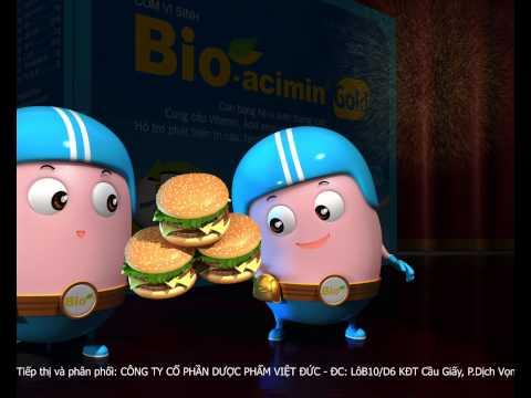 Phim quảng cáo Bioacimin Gold