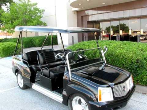 Cadillac Escalade Six Passenger Luxury Golf Car For Sale