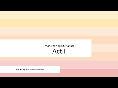 Monster Writing Guides - Bronwen Fleetwood