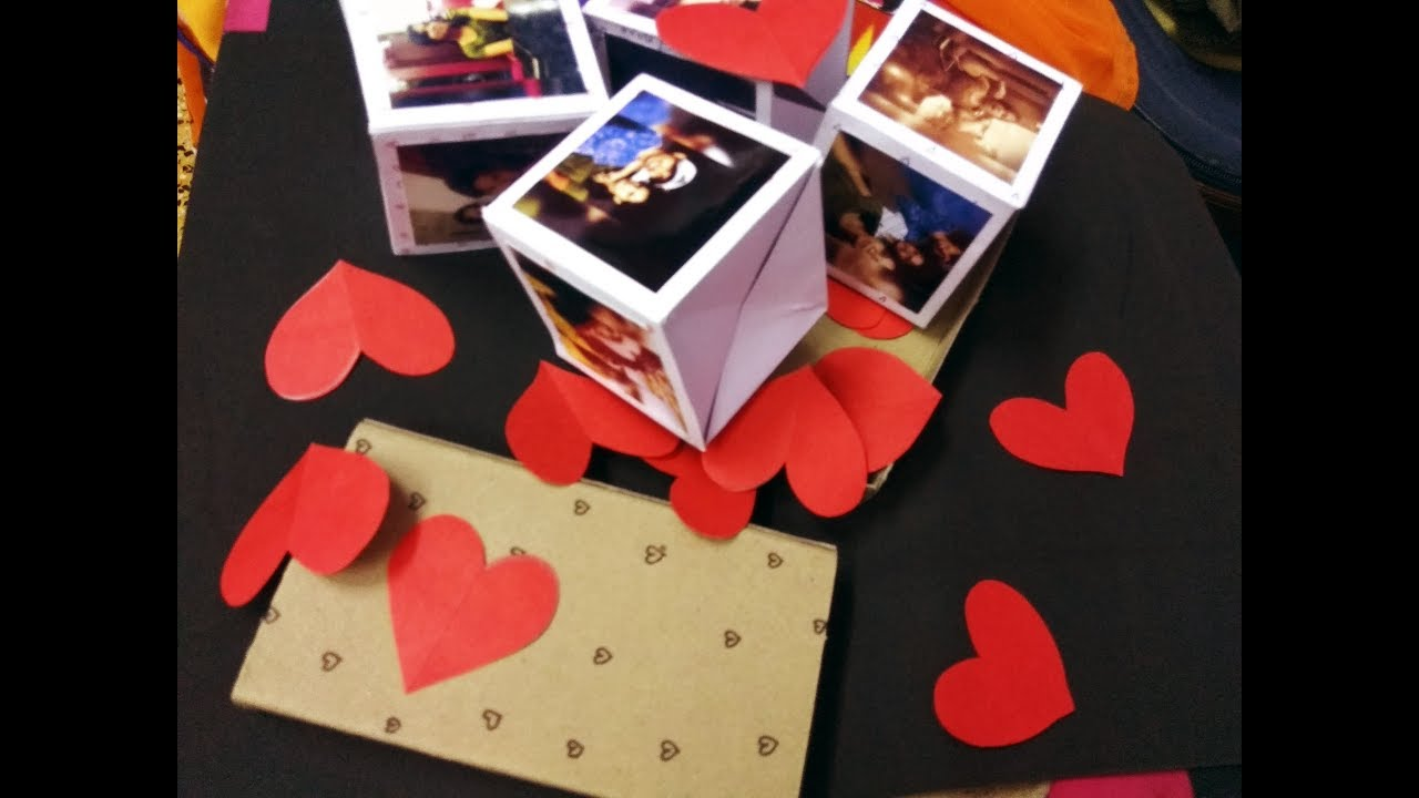 Diy Pop Up Cubes In A Box Boomf Box Youtube Pop Up Box Cards Picture Gifts Diy Paper Box Diy