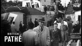 Naval Scenes - Arriving At Docks (1945)