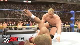 """Stunning"" Steve Austin vs. Brian Pillman: WWE 2K16 2K Showcase walkthrough"