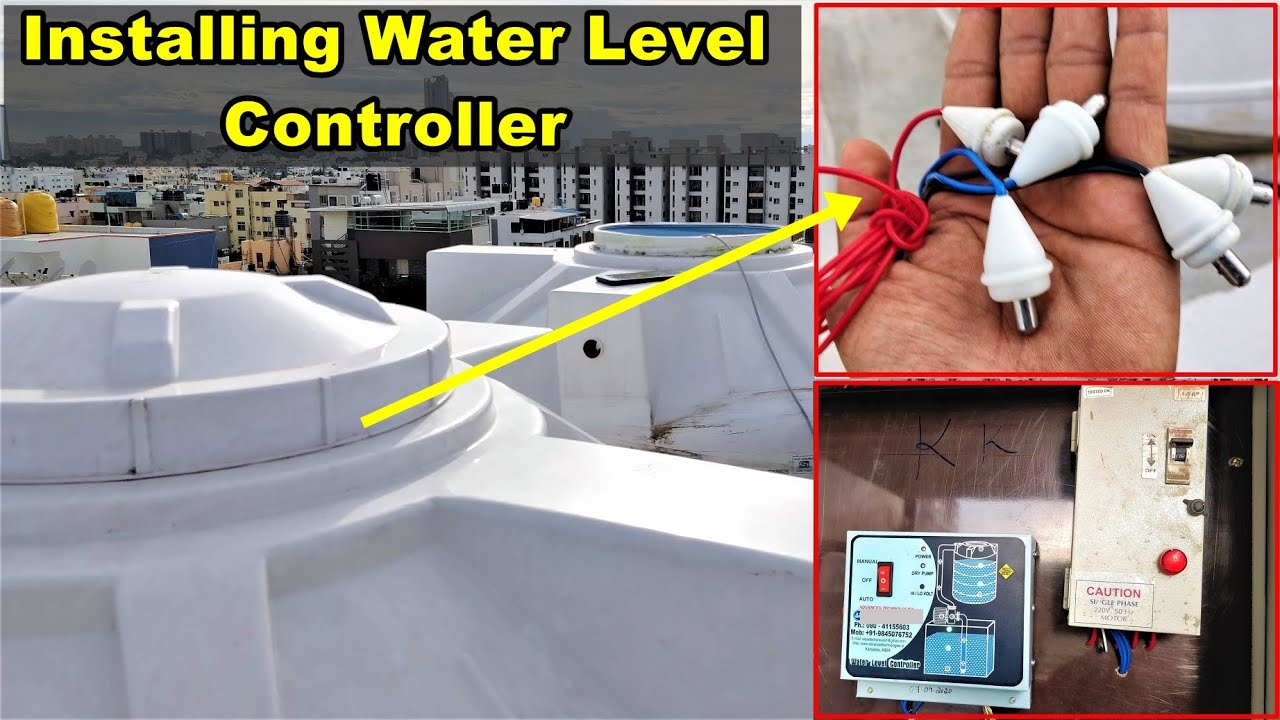 Complete video on Water Level Controller Installation - A2Z Construction