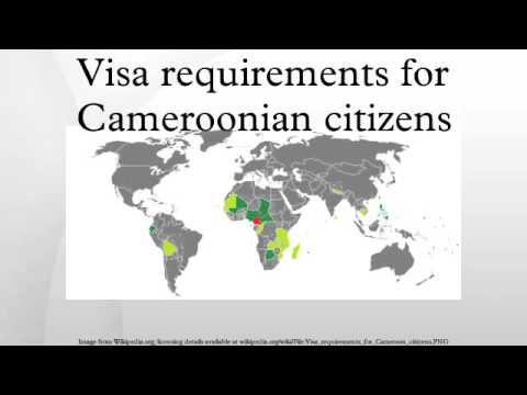 Visa requirements for Cameroonian citizens