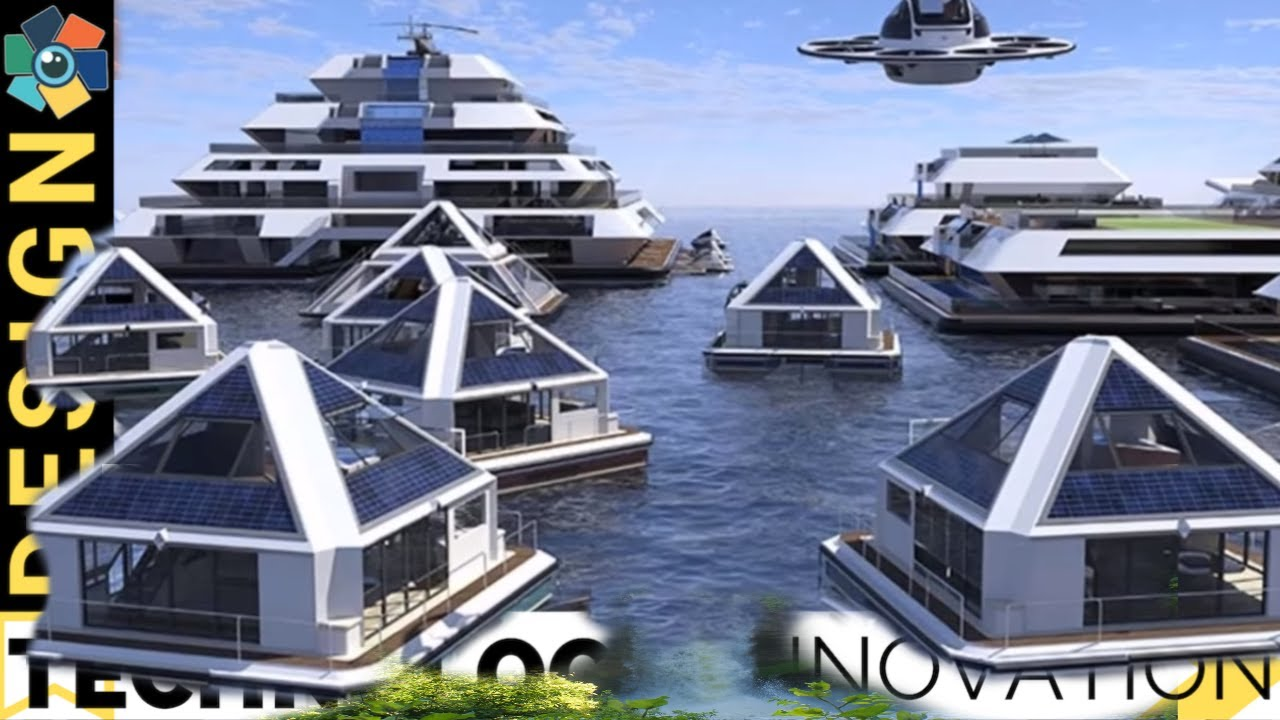 10 Awesome Houseboats and Future Floating Homes on future of boats, future armored vehicles, future navy boats, future space stations, future pontoon boats, future animals, future cruisers, future race boats, future boat design, future speed boats, future architecture concepts, future cargo boats, future boats yachts, future seaplanes, future atv, future technology, future townhouses, future power boats, future homes,