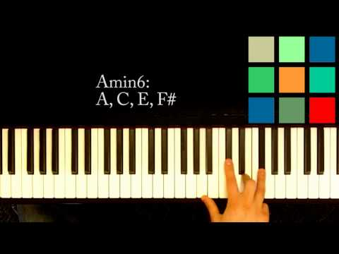 How To Play An Am6 Chord On The Piano