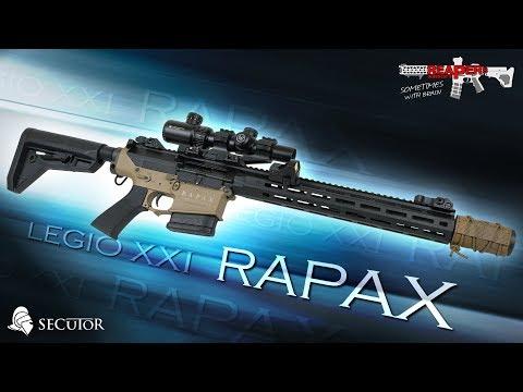 [Review] Secutor RAPAX XXI M1 - S-AEG (Ares,M110,DMR) 6mm Airsoft/Softair Test