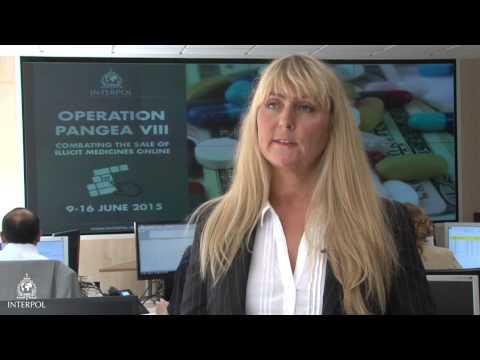 Operation Pangea VIII: Cecilia Fant, INTERPOL Criminal Intelligence Officer