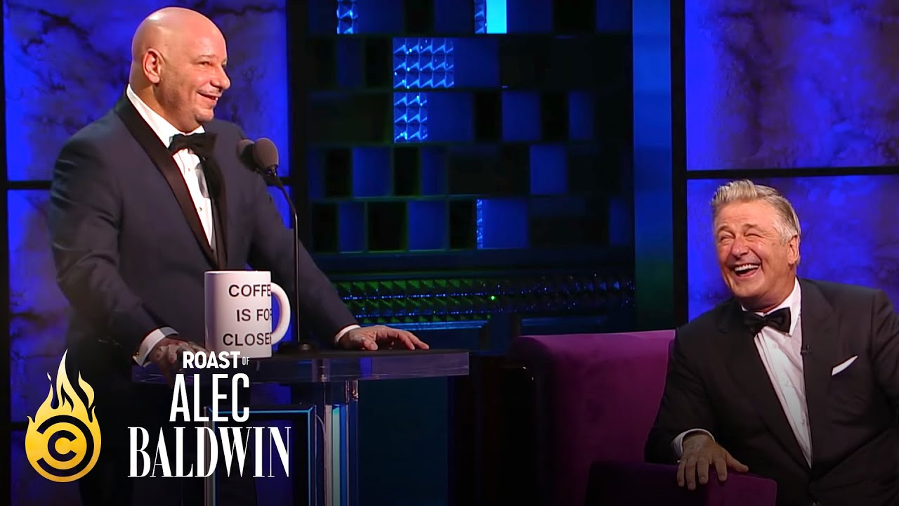 Jeff Ross Takes a Jab at Alec Baldwin's Trump Impression - Roast of Alec Baldwin