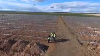 EkoRE Solar Power Plant Drone Footage