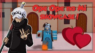 OPE OPE NO MI (Operation Fruit) SHOWCASE! *OP!* | Steve's One Piece | Roblox