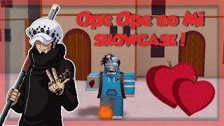 OPE OPE NO MI (Operation Fruit) SHOWCASE! *OP!* | Steves ein Stück | Roblox