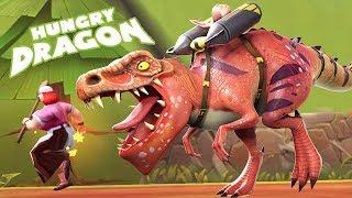 T-REX NEW LEGENDARY DRAGON!!! (HUNGRY DRAGON)