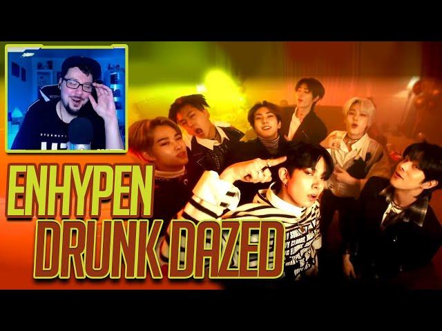 Mikey Reacts to ENHYPEN (엔하이픈) 'Drunk-Dazed' Official MV