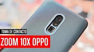 Tecnología zoom óptico 10X de Oppo, así es y así funciona